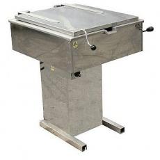 Patelnia gastronomiczna elektryczna żeliwna<br />model: PE27ZL<br />producent: Spomasz