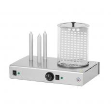 Urządzenie do hot-dogów 3-bolcowe z pojemnikiem HD-3N<br />model: 00000392<br />producent: Redfox