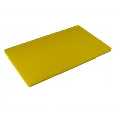 Deska z polietylenu HACCP żółta<br />model: T-3045-YL<br />producent: Tom-Gast