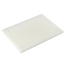 Deska z polietylenu HACCP biała<br />model: T-2515W<br />producent: Tom-Gast