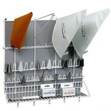 Wieszak do końcówek i worków cukierniczych<br />model: T-53-001<br />producent: Tom-Gast