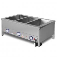 Bemar elektryczny stołowy 3xGN1/1 | EGAZ BE-3NS<br />model: BE-3 NS<br />producent: Egaz
