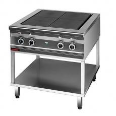 Kuchnia gastronomiczna elektryczna 4-płytowa | KROMET 000.KEZ-4u.T<br />model: 000.KEZ-4u.T<br />producent: Kromet