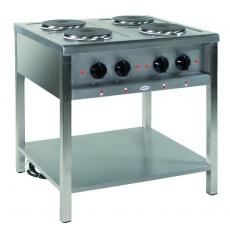 Kuchnia gastronomiczna elektryczna 4-płytowa | EGAZ KE-47<br />model: KE-47<br />producent: Egaz