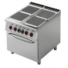 Kuchnia gastronomiczna elektryczna 4-płytowa z piekarnikiem CFQ4-98ET<br />model: 00001024<br />producent: Lotus