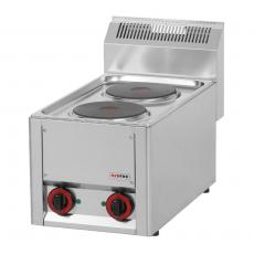 Kuchnia gastronomiczna elektryczna 2-płytowa SP 30 ELS<br />model: 00000490<br />producent: Redfox