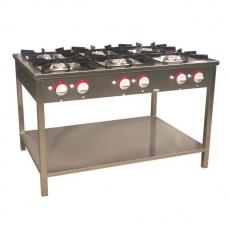 Kuchnia gastronomiczna gazowa 6-palnikowa | EGAZ TG-6737.III<br />model: TG-6737.III<br />producent: Egaz