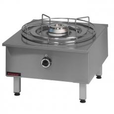 Taboret gastronomiczny gazowy 1-palnikowy | KROMET 000.TG-1F<br />model: 000.TG-1F<br />producent: Kromet
