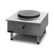 Taboret gastronomiczny elektryczny 1-płytowy | KROMET 000.TE-1F<br />model: 000.TE-1F<br />producent: Kromet