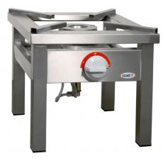 Taboret gastronomiczny gazowy 1-palnikowy | EGAZ TGOM-103<br />model: TGOM-103<br />producent: Egaz