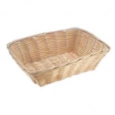 Koszyczek na pieczywo z polirarattanu prostokątny<br />model: 426807<br />producent: Hendi