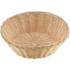 Koszyczek na pieczywo z polirarattanu okrągły<br />model: 426609<br />producent: Hendi