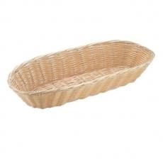 Koszyczek na pieczywo z polirarattanu owalny długi<br />model: 426906<br />producent: Hendi