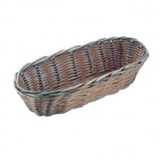 Koszyczek na pieczywo z polirarattanu owalny<br />model: 426708<br />producent: Hendi