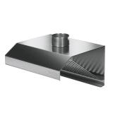 Okap nierdzewny przyścienny E6010/E6020/E6030/1200/1000