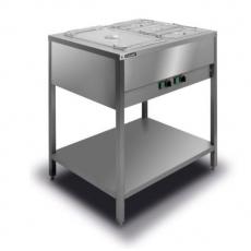 Bemar elektryczny wolnostojący 2xGN1/1 BWN.2GN<br />model: BWN.2GN<br />producent: Lozamet
