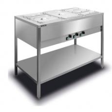 Bemar elektryczny wolnostojący 3xGN1/1 BWN.3GN<br />model: BWN.3GN<br />producent: Lozamet