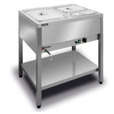 Bemar elektryczny wolnostojący 2xGN1/1 (1-komorowy) BWW.2GN<br />model: BWW.2GN<br />producent: Lozamet