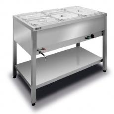 Bemar elektryczny wolnostojący 3xGN1/1 (1-komorowy) BWW.3GN<br />model: BWW.3GN<br />producent: Lozamet