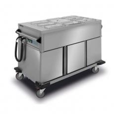 Bemar elektryczny jezdny 3-komorowy BJNS.3GN.B<br />model: BJNS.3GN.B<br />producent: Lozamet