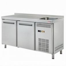 Stół chłodniczy 2-drzwiowy ze zlewem RT-2DS<br />model: 00001409<br />producent: Redfox