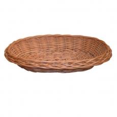 Koszyk na pieczywo wiklinowy owalny<br />model: SZ-1000<br />producent: Tom-Gast