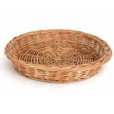 Koszyk na pieczywo wiklinowy okrągły<br />model: SZ-3820<br />producent: Tom-Gast