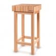 Kloc masarski drewniany  - 505694