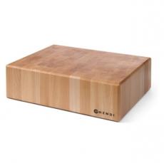 Blat drewniany kloca masarskiego<br />model: 505632<br />producent: Hendi