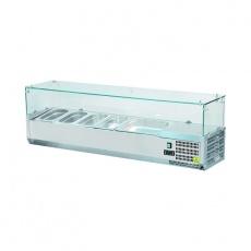 Nadstawa chłodnicza z szybą prostą<br />model: 844840<br />producent: Stalgast