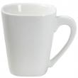 Filiżanka kwadratowa porcelanowaKUBIKO/FALA 61231
