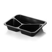 Tacka obiadowa trójdzielna (poj. 1350 ml) - 360 szt.<br />model: MCS H40 D/3<br />producent: MCS