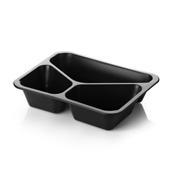 Tacka obiadowa trójdzielna (poj. 1500 ml) - 320 szt.<br />model: MCS H50  3D T503C<br />producent: MCS