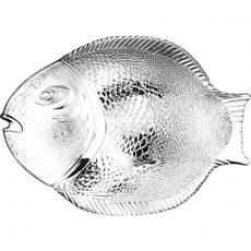 Talerz do ryb PASABAHCE<br />model: 400198<br />producent: Pasabahce