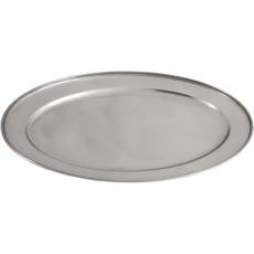 Półmisek stalowy owalny<br />model: 401252<br />producent: Stalgast
