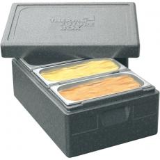 Pojemnik termoizolacyjny na kuwety do lodów<br />model: 054030<br />producent: Thermo Future Box