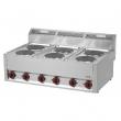 Kuchnia gastronomiczna elektryczna 6-płytowa SP 90 ELS