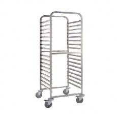 Wózek nierdzewny do tac piekarniczych CGA-64<br />model: 2432105<br />producent: Edenox