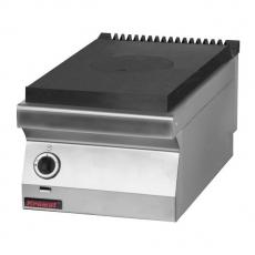 Kuchnia gastronomiczna gazowa z płytą grzewczą   KROMET 700.KG/I-400<br />model: 700.KG/I-400<br />producent: Kromet