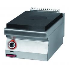 Kuchnia gastronomiczna gazowa z płytą grzewczą | KROMET 700.KG/I-400<br />model: 700.KG/I-400<br />producent: Kromet