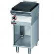 Kuchnia gastronomiczna gazowa z płytą grzewczą | KROMET 700.KG/I-400 - 700.KG/I-400