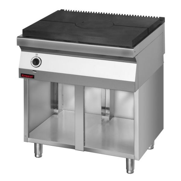 Kuchnia gastronomiczna gazowa z płytą 700 KG I 800 S -> Kuchnia Gazowa Kromet Cześci