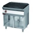 Kuchnia gastronomiczna gazowa z płytą | KROMET 700.KG/I-800 - 700.KG/I-800