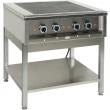 Kuchnia gastronomiczna elektryczna 4-płytowa KE 47K