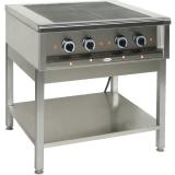 Kuchnia gastronomiczna elektryczna 4-płytowa | EGAZ KE-47K<br />model: KE-47K<br />producent: Egaz