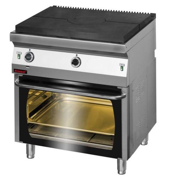 Kuchnia gastronomiczna gazowa z piekarnikiem 700 KG I 800 PG 2 -> Kuchnia Gazowa Kromet Cześci