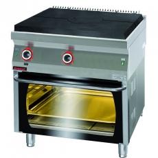 Kuchnia gastronomiczna gazowa z piekarnikiem | KROMET 700.KG/I-800/PG-2<br />model: 700.KG/I-800/PG-2<br />producent: Kromet