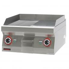 Płyta grillowa elektryczna | KROMET 700.PBE-600GR-C<br />model: 700.PBE-600GR-C.A<br />producent: Kromet