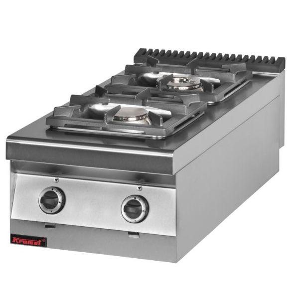 Kuchnia gastronomiczna gazowa 2 palnikowa 900 KG 2