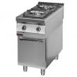 Kuchnia gastronomiczna gazowa 2-palnikowa 900.KG-2/S/D